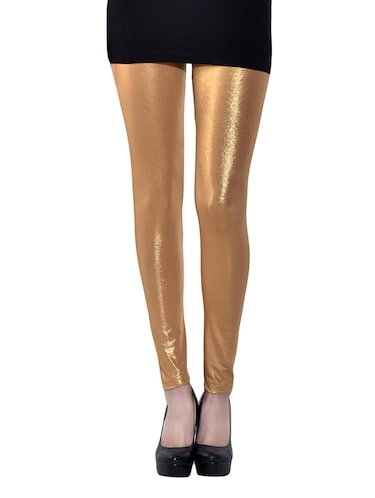 golden cotton spandex legging - 13296091 - Standard Image - 1