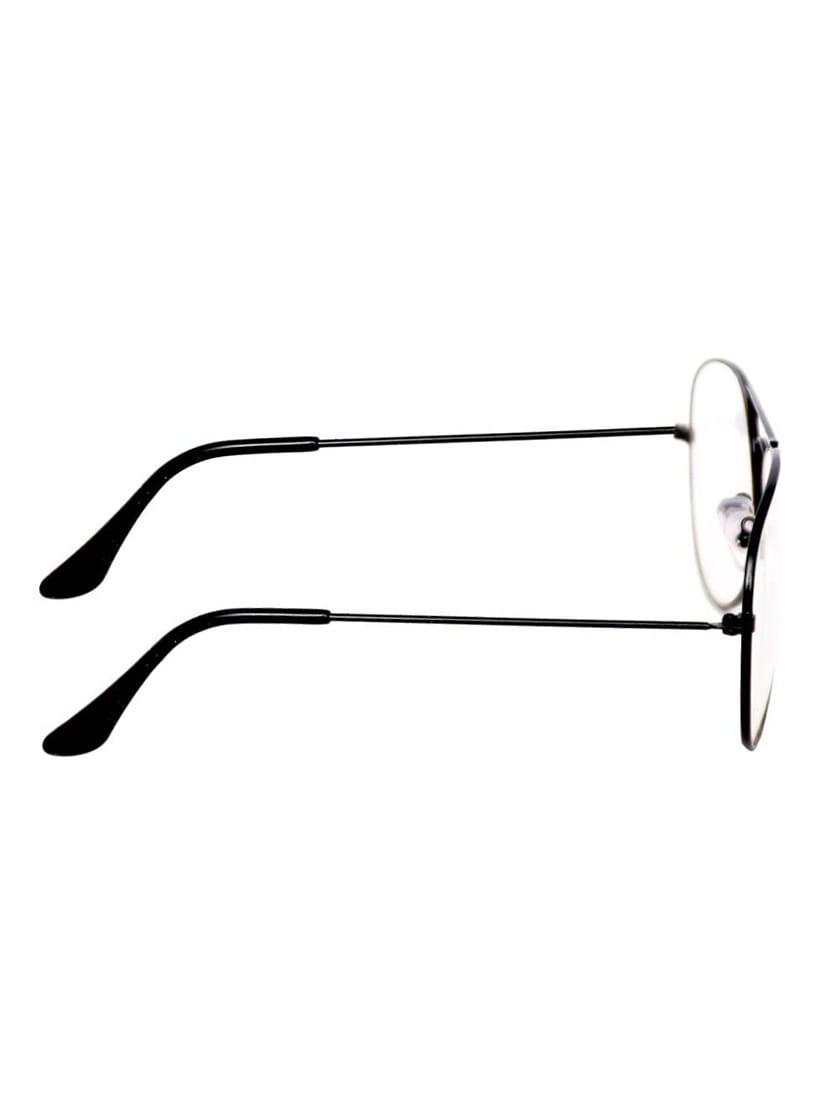 dc56e0e72d87d Buy Yaadi Plain Black Aviator Sunglasses for Women from Yaadi for ₹320 at 47%  off