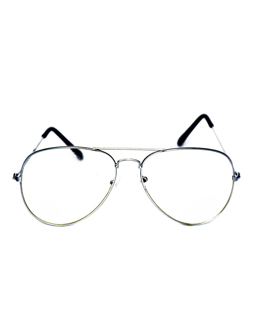 2cdff6fcce Buy Yaadi Plain Silver Aviator Eyeglasses by Yaadi - Online shopping for Eyeglasses  in India