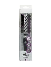 Elite Models 100% Boar Bristles Hair Brush - Black - By