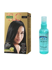 STREAX TLC HAIR COLOR NATURAL BLACK WITH PINK ROOT HAIR SERUM - By