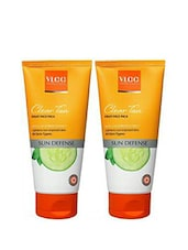 VLCC Clear Tan Fruit Face Pack (Pack Of 2) (170) - By