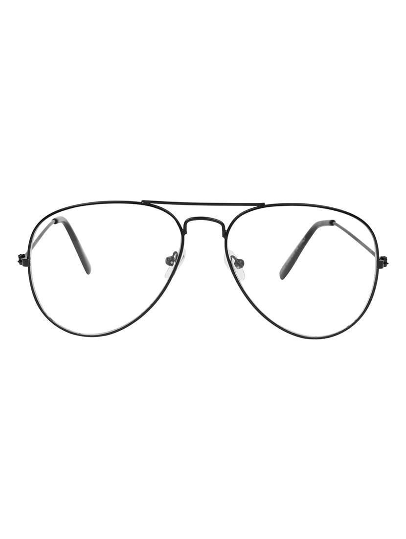 Buy Zyaden Black Aviator Eyewear Frame 321 by Zyaden - Online ...