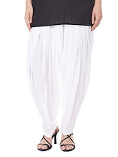 white cotton salwar salwars -  online shopping for Salwars