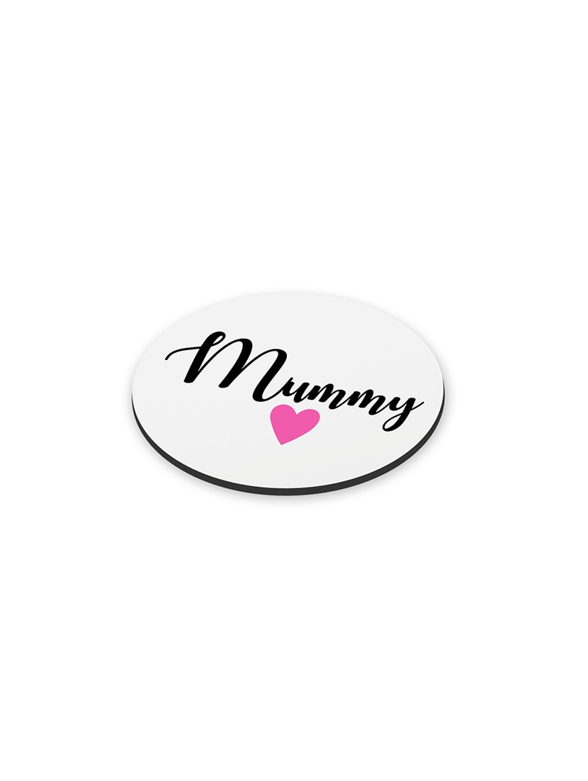 Buy Lof Anniversary Gift For Mummy Papa Birthday Mothers Day Gifts Round Printed Coaster By