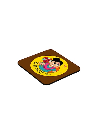 LOF Meri Pyari Maa Gifts For Mummy For Mother's Day and Birthday Anniversary Gifts round Printed Coaster - 13387560 - Standard Image - 1