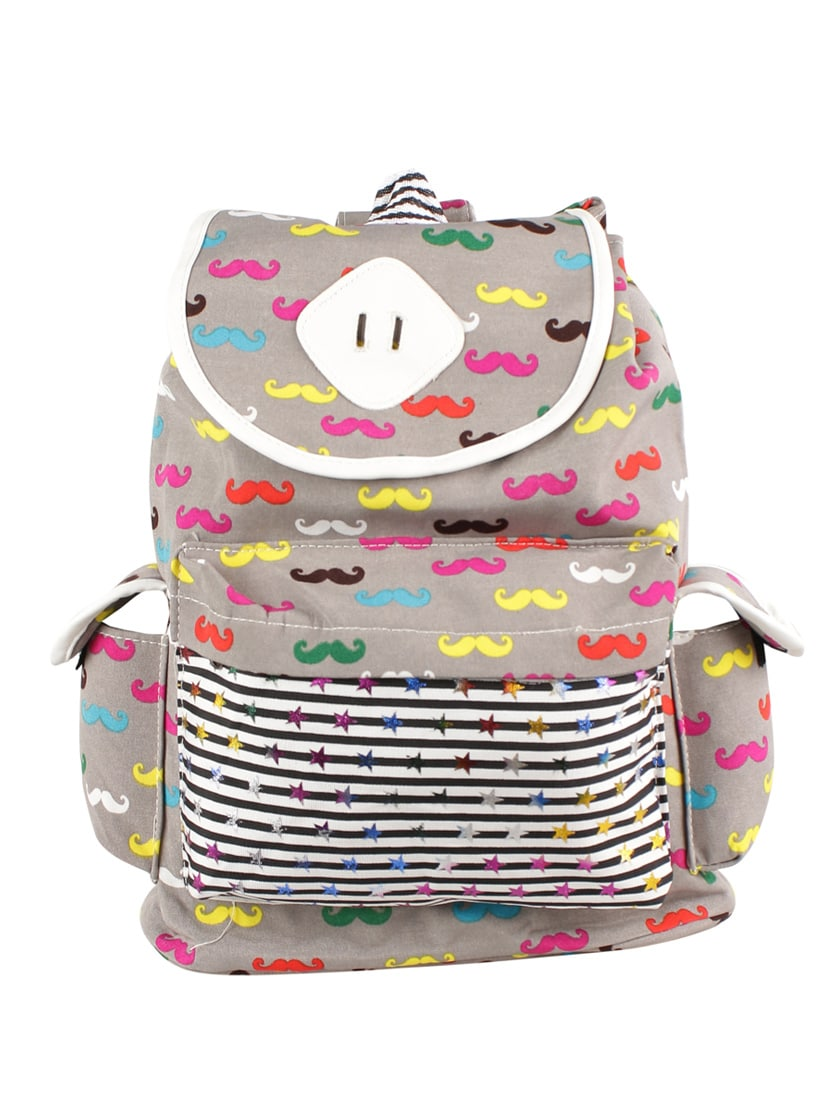 Buy Multi Canvas Regular Backpack by Tamirha - Online shopping for Backpacks  in India  17f2db7a4fe79
