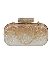 gold metal clutch -  online shopping for clutches