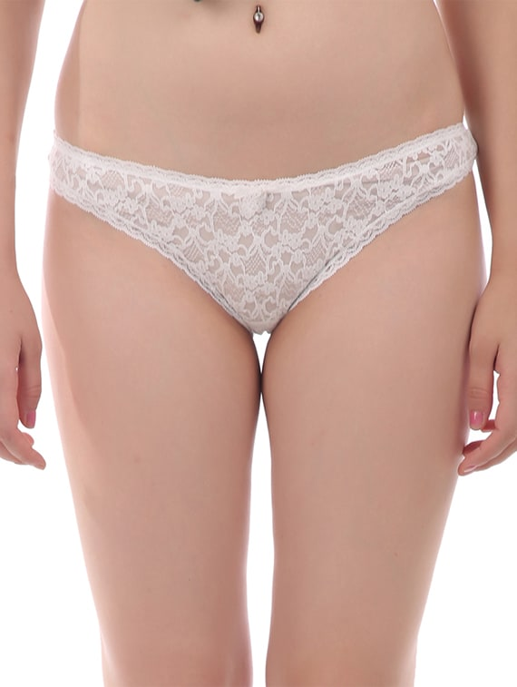 7d553bc76 Buy White Net Bikini Panty for Women from Tace for ₹99 at 75% off ...
