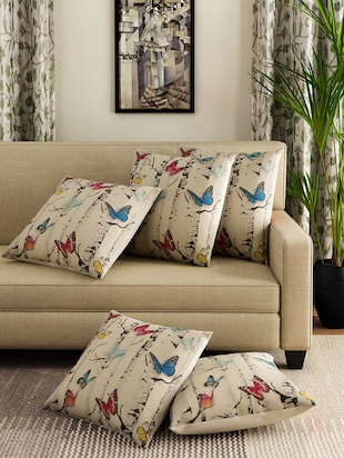 Cushion Covers line Buy Printed Cushion Covers Throws in India