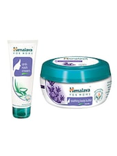 Himalaya For MoMs Anti-rash Cream 50 G  And Soothing Body Butter Cream For MoMs  Lavender 100 Ml - By