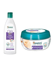 Himalaya Baby Massage Oil And Himalaya Body Butter Cream For MoMs - By