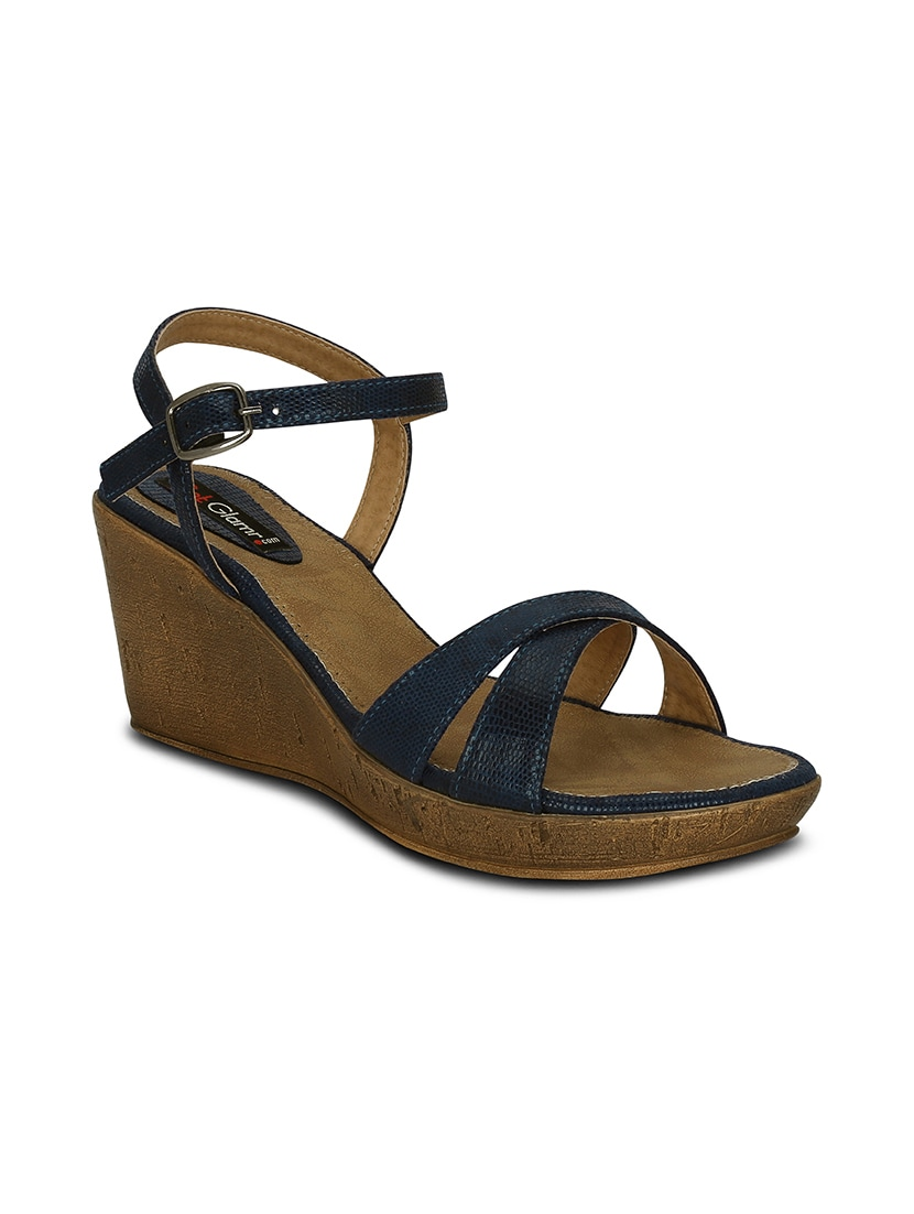 91a671d7bf Buy Lucas Wedge Sandals for Women from Get Glamr for ₹683 at 64% off | 2019  Limeroad.com