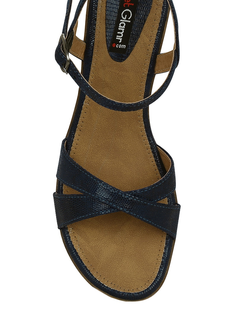 2c9c21ba52 Buy Lucas Wedge Sandals for Women from Get Glamr for ₹683 at 64 ...