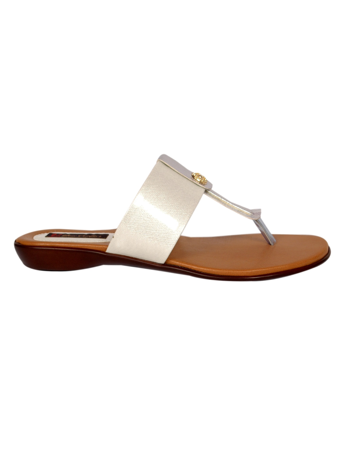 ce5ddae67a15 Buy White T-strap Sandal for Women from Studio 09 for ₹1599 at 0% off