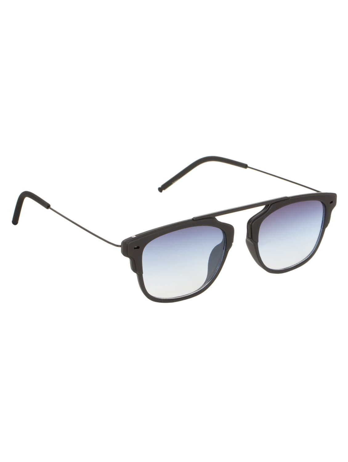 bc4a1351bb Buy Adine Unisex Blue Rectangle Sunglasses by Adine - Online shopping for  Sunglasses in India