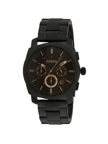 FOSSIL Black Dial Watch For Men - FS4682 - 13759582 - Standard Image - 1