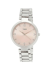 TIMEX Pink Dial  Analog Watch For Women - TW000X201 -  online shopping for Analog watches