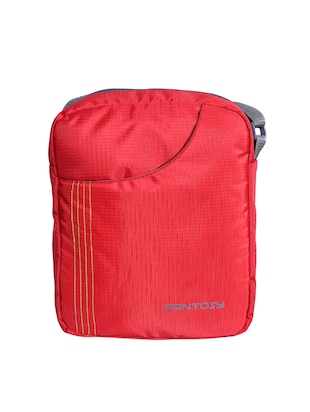 red polyester sling bag -  online shopping for messengerbags