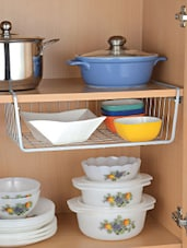Undershelf Steel Basket -  online shopping for Other Accessories