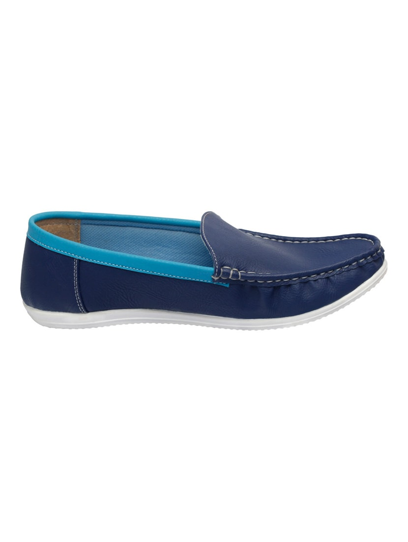 a1b49063da0 Buy Blue Leatherette Slip On Loafer for Men from Fausto for ₹708 at 29% off