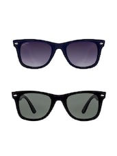 Being Adam Uv Protected Wayfarer Combo Of Set 2 Unisex Sunglasses -  online shopping for Sunglasses