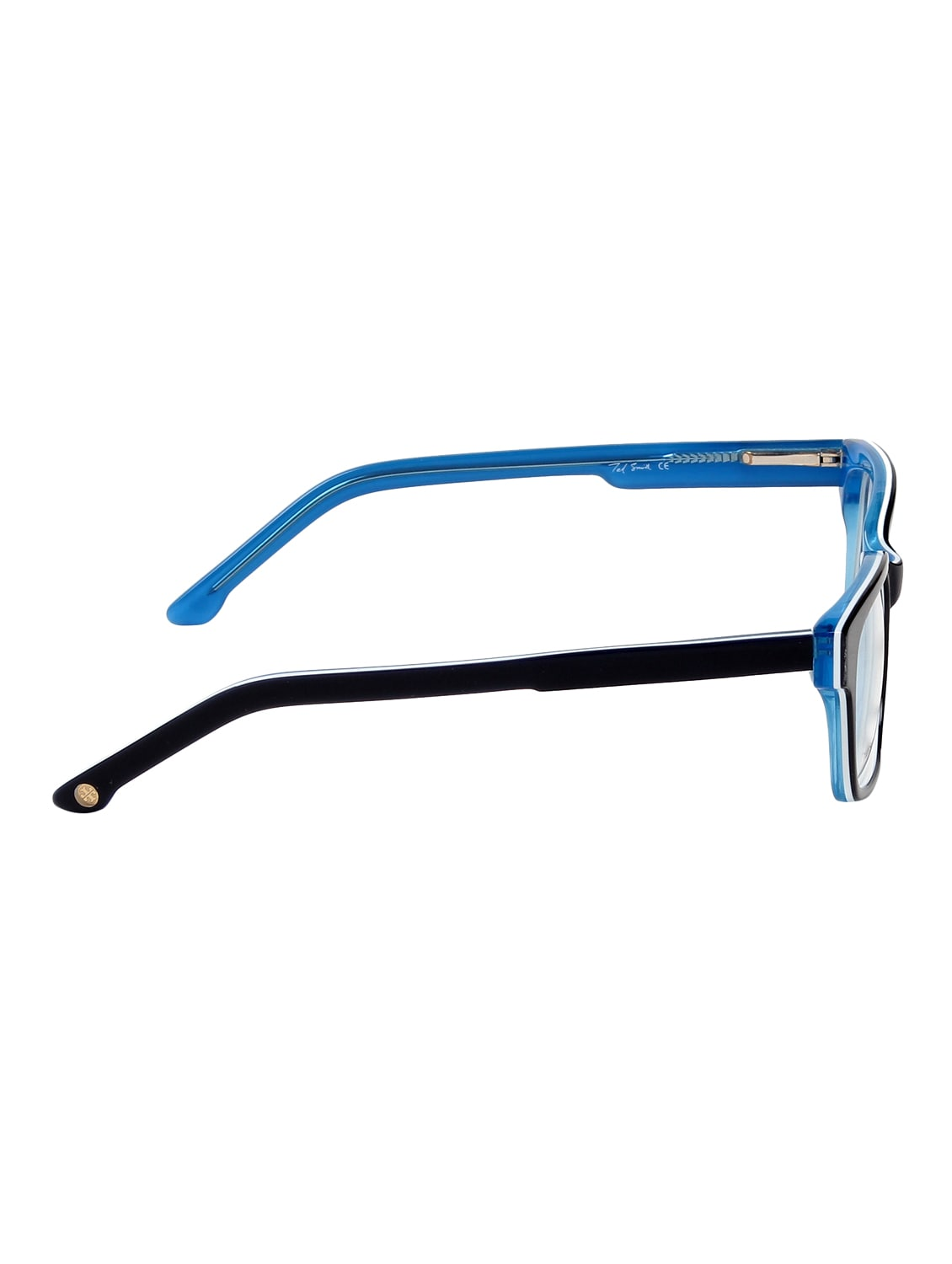 89986b50fb Buy Ted Smith Men Wayfarer Frames (ts-t1001 blk blu) by Ted Smith - Online  shopping for Men Spectacle Frames in India