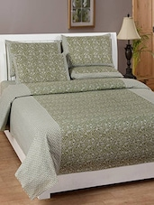 Flossy Cotton Printed Double Bedsheet Set -  online shopping for bed sheet sets