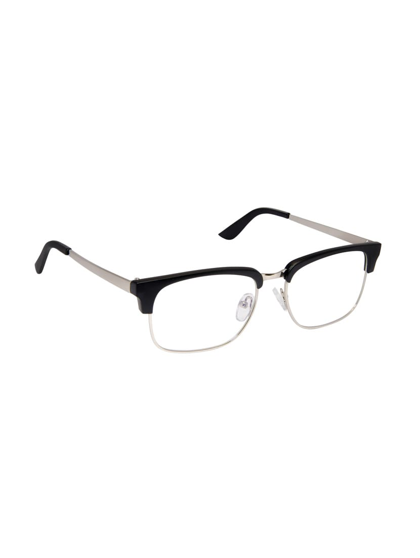 3089e898c4 Buy Cardon Matte Black Silver Clubmaster Full Rim Eyeglass for Women from  Cardon for ₹625 at 63% off