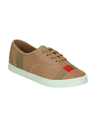 brown  lace-up casual shoe - 13938023 - Standard Image - 1