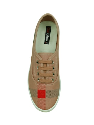 brown  lace-up casual shoe - 13938023 - Standard Image - 4