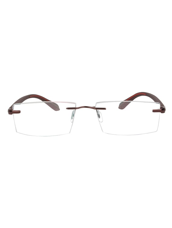 f3e10a072f9 Buy Zyaden Rectangular Rimless Frame 90 by Zyaden - Online shopping ...