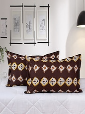 Salona Bichona 100% Cotton Set of 2 Pillow Cover -  online shopping for pillow covers