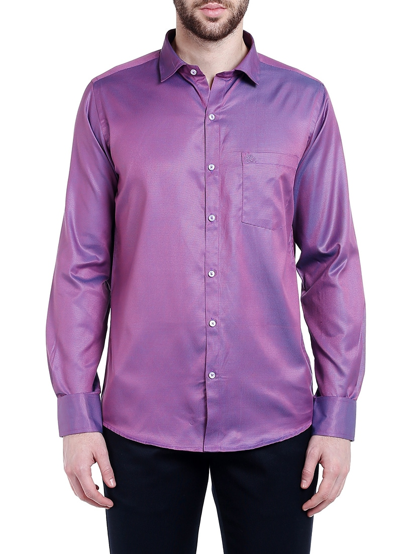 9028851b Buy Purple Cotton Casual Shirt for Men from Lisova for ₹810 at 55% off |  2019 Limeroad.com