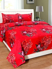 Red Bed Sheets