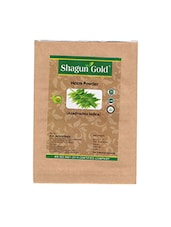 Shagun Gold 100% Natural Neem Leaves Powder For Pimple Free Clear Skin And Dandruff Free No Hair Fall Naturally 100 X 100Gm - By
