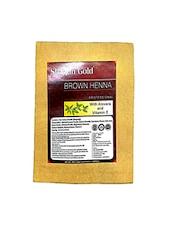 Shagun Gold Brown Natural Henna Hair Colour 200Gm X 4 - By