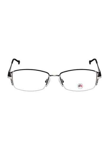 29ececefbb06 Buy David Blake Matte Black Gold Rectangular Half Rim Eyeframe by David  Blake - Online shopping for Eyeglasses in India