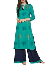 green straight stitched suit -  online shopping for Stitched Suits