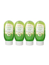Globus Green Tea & Tea Tree Face Wash Pack Of 4 - By