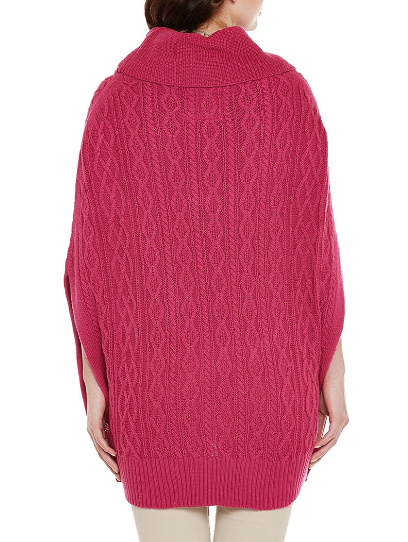 f975632641 Buy Pink Wool Poncho for Women from Cayman for ₹800 at 65% off ...