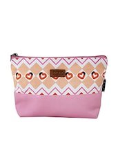 pink canvas regular pouch -  online shopping for Pouches