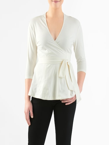 8dcd27e3a White tops - Buy White tops Online at Best Prices in India ...