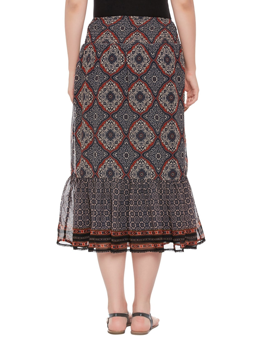 0b59bcd500 Buy Multi Colored A-line Skirt by Oxolloxo - Online shopping for Skirts in  India | 14137743