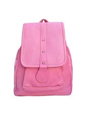 pink leatherette backpack -  online shopping for backpacks