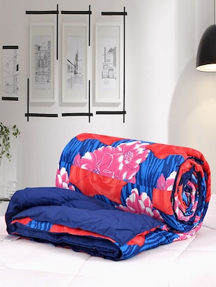 Printed Cotton Double Comforter -  online shopping for Quilts and comforters
