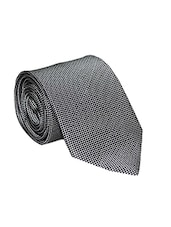 grey micro fiber tie -  online shopping for Ties
