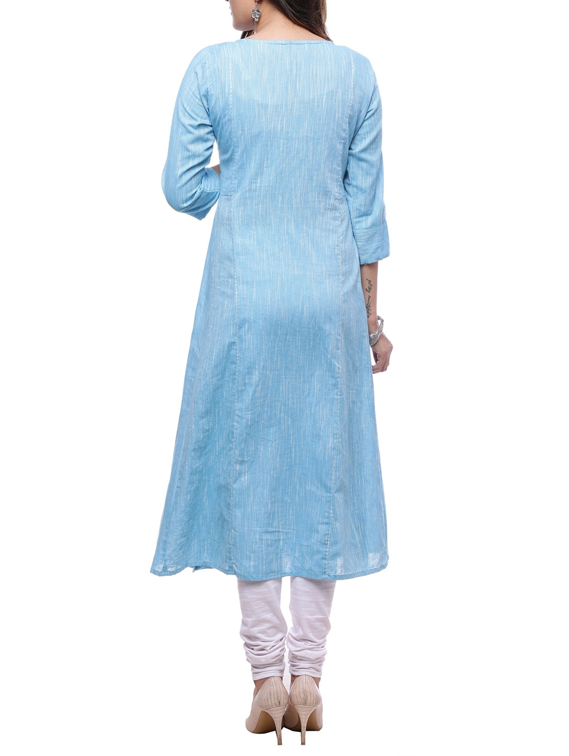 1db68bcfaa4c Buy A-line Melange Kurta for Women from Ayan for ₹860 at 57% off | 2019  Limeroad.com