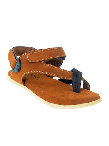 a4f3c5385b0 Sandals and floaters for Men - Buy Leather Floaters Online in India