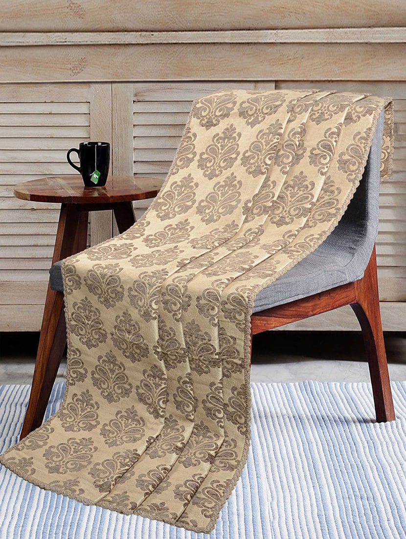 Buy Soft Decorative Reversible Chenille Sofa Covers Throw By Saral